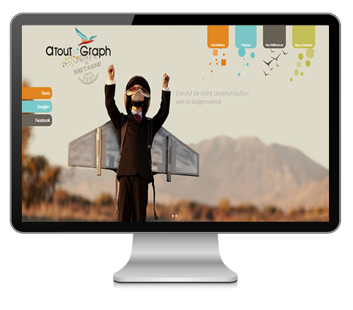 Atout Graph - creation de site - referencement - e-marketing